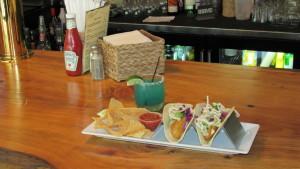 Topsail Fish Tacos - two Mahi Mahi, cilantro slaw